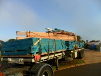 Delivery of timber