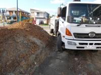 Accessing building site