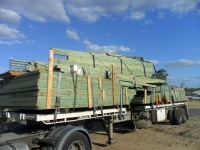Green timber delivery