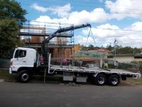 Small crane operation