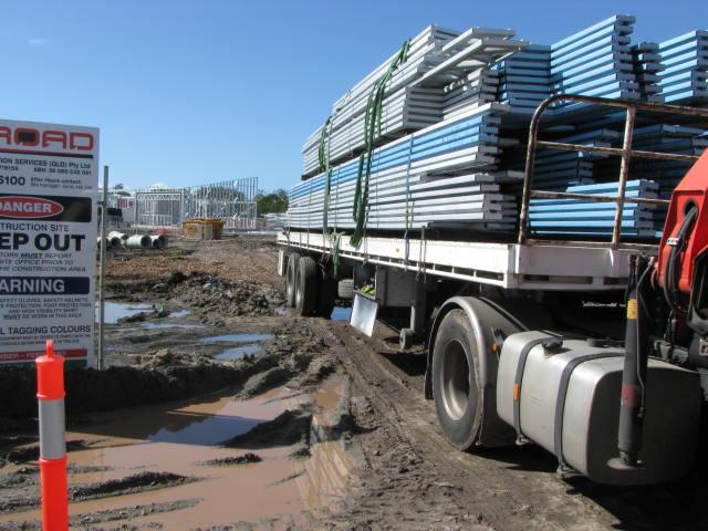 Building site access