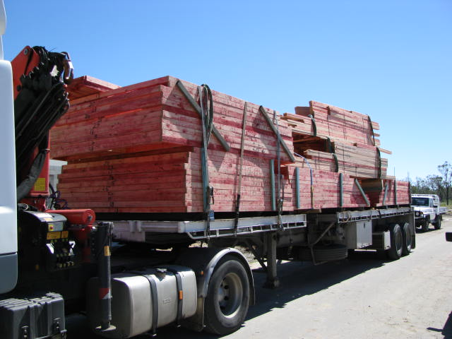 Red timber